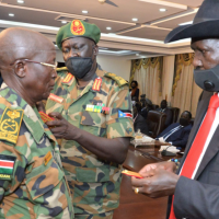 President Salva Kiir tactically reshuffles the army