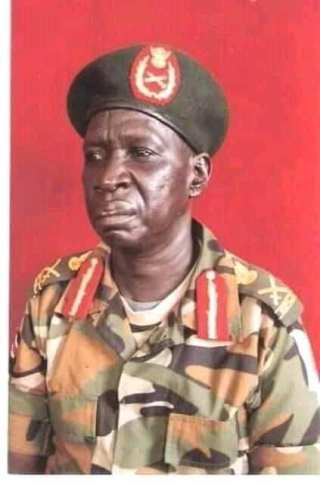 Lt. Gen. James Yiech Biet Nhial passed away in hospital in Addis Ababa, Ethiopia(Photo credit: supplied)