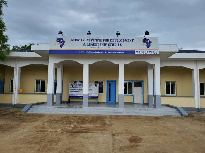 Estimated $8 million worth university launched in Lobonok