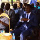 Jonglei State governor Denay Chagor and his Deputy Antipas Nyok during the May 16, 2021 event (Photo credit: courtesy image)