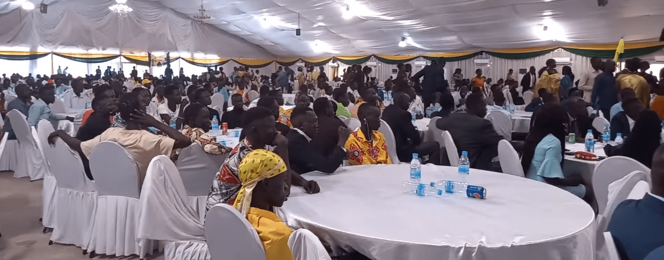 Participants at the Gawaar Flood Initiative Fundraising event in Juba, South Sudan, on May 1, 2021(Photo credit: courtesy image/Nyamilepedia)