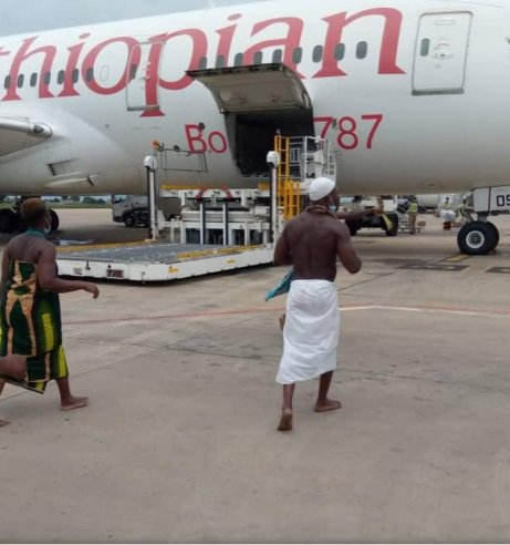 Ethiopian aircraft 'struck by lightning' in Togo, traditional leaders weigh in