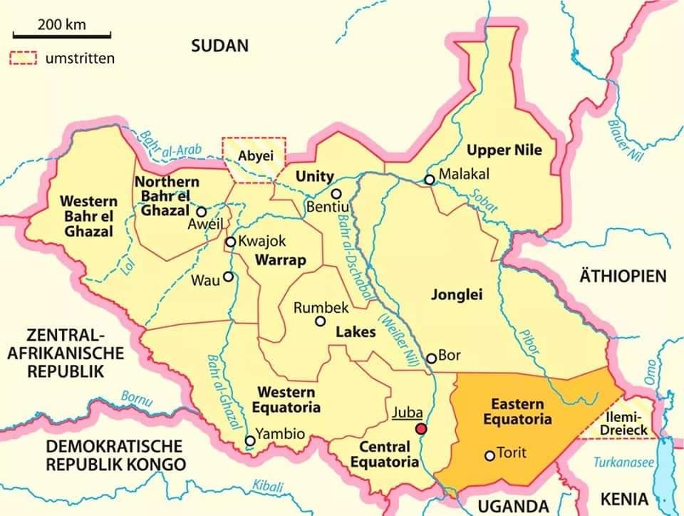 Eastern Equatoria State Deputy Governor kisses death