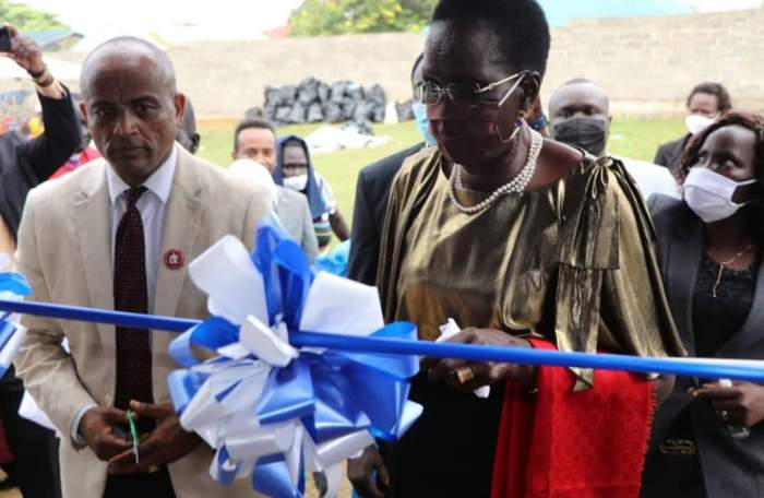 VP Nyandeng commissions new church in Magateen