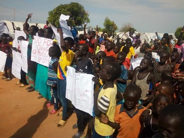 IDPs in Bentiu protest abduction of Camp Chairman by alleged state security agents