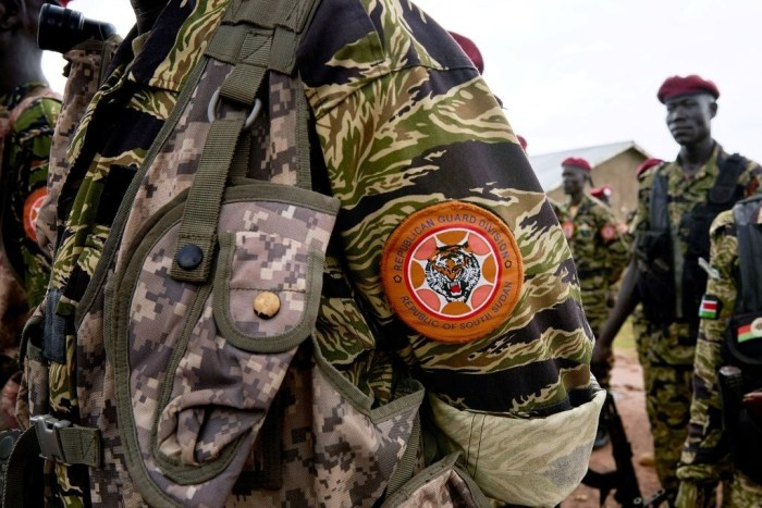 60 SSPDF soldiers detained, await trial over 'major crimes'