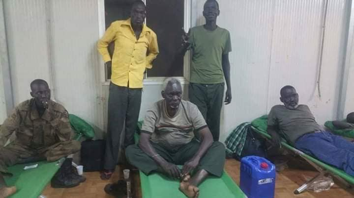 Gen. Simon Gatwech Dual in August 2016 after fleeing military violence in the capital, Juba(Photo credit: file)