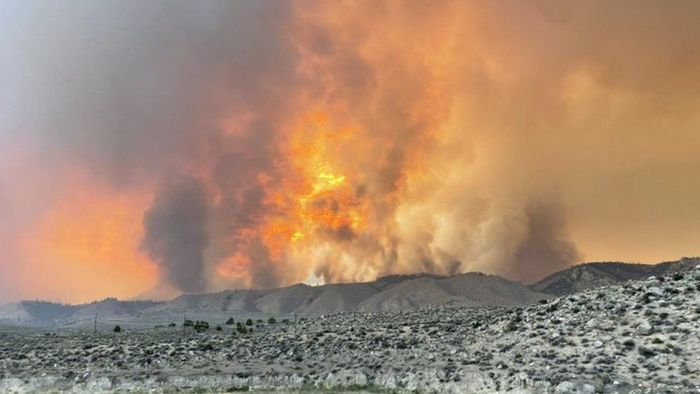 BREAKING: Wildfires kill two firefighters in United States