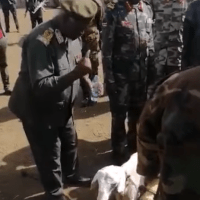 BREAKING: SPLA-IO Chief of Staff performs war rituals denouncing the First Vice President, Machar!
