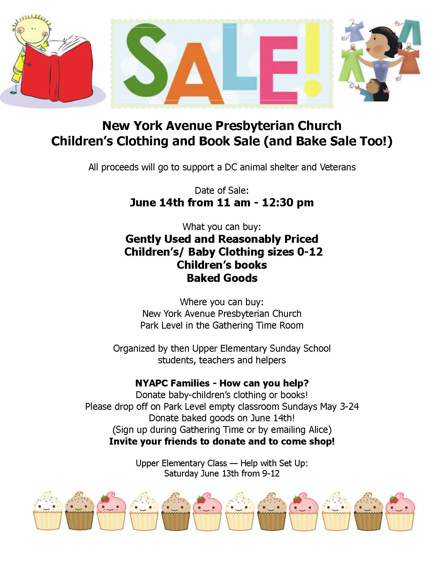 children s clothing and book and bake th the new children s clothing and book and bake 14th