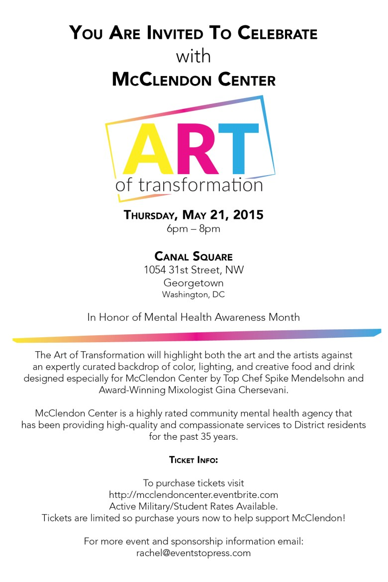 McClendon Center Art of Transformation
