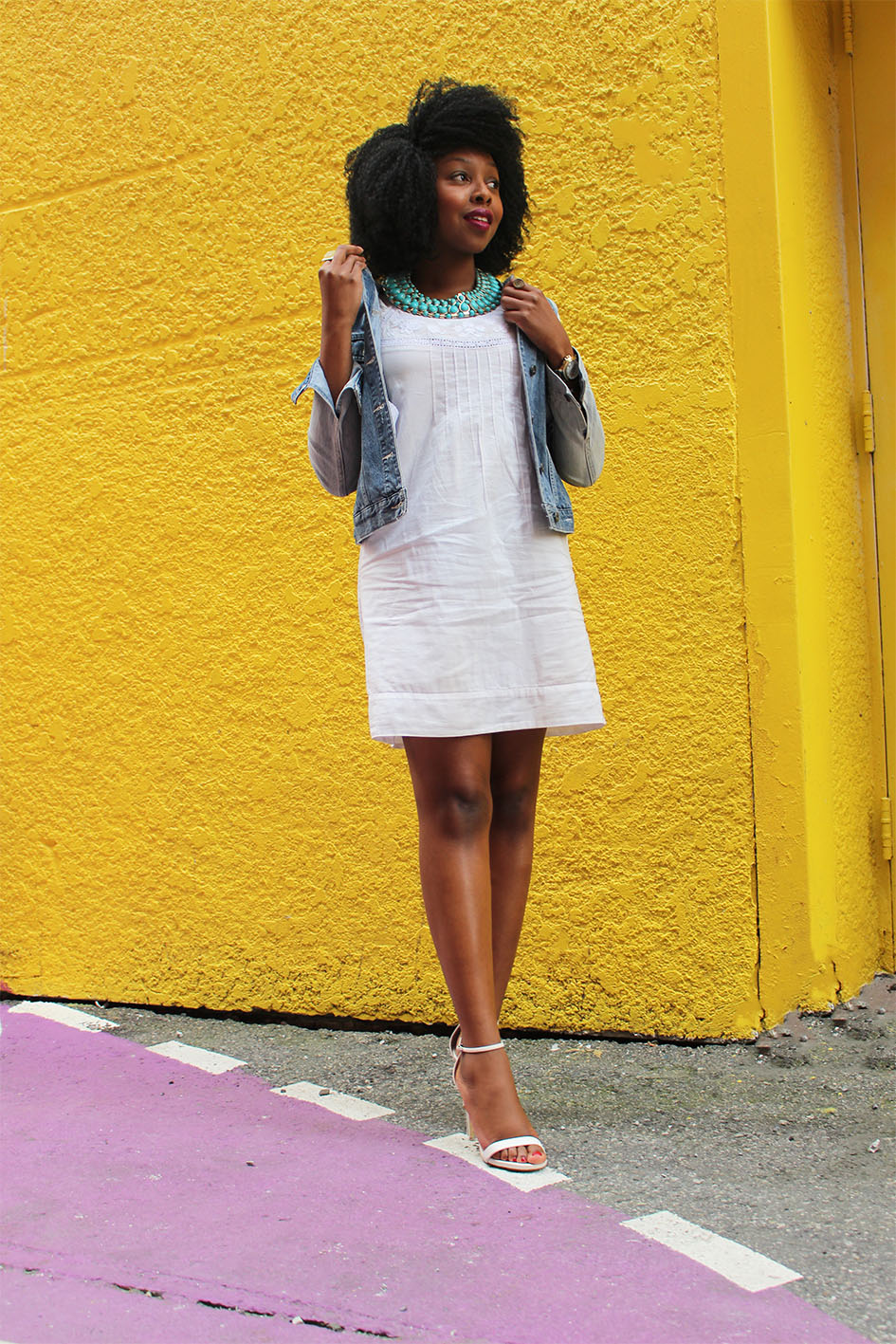 white-dress-denim-jacket