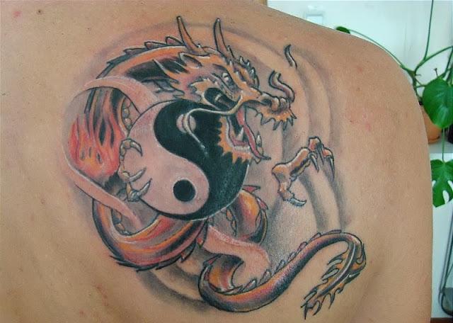 Girl Dragon Tattoos 49