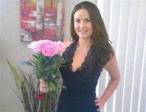 Fleming is accused of stabbing Sarah Douglas, 26
