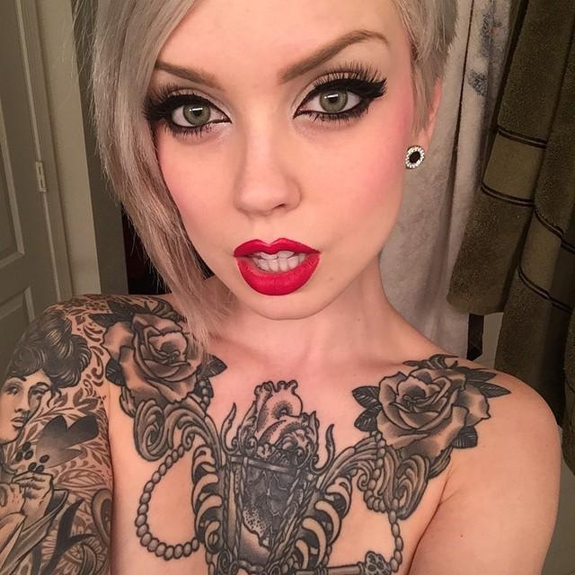 Sara's tattoos