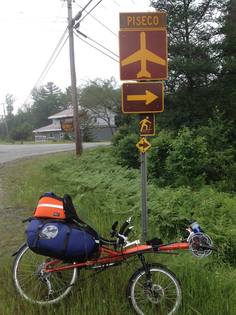 Radical Design bags on a Street Machine Gte in the Adirondacks