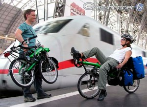Grasshopper fx (folding) from HP Velotechnik: touring, commuting. Photo: HP Velotechnik.