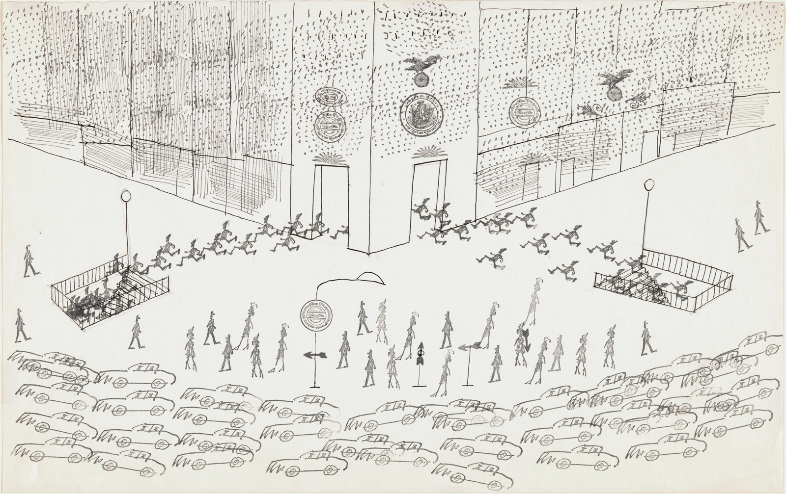 Saul Steinbergs View Of The World By Chris Ware NYR