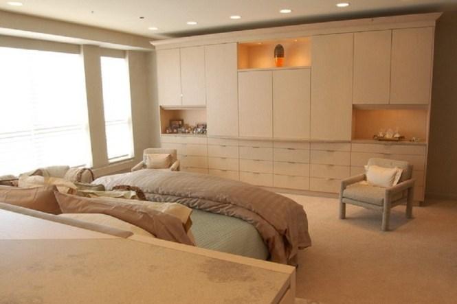 1 Bedroom Walk In Reach Closet Wardrobe Furniture Armoire Wall Unit Cabinet Storage