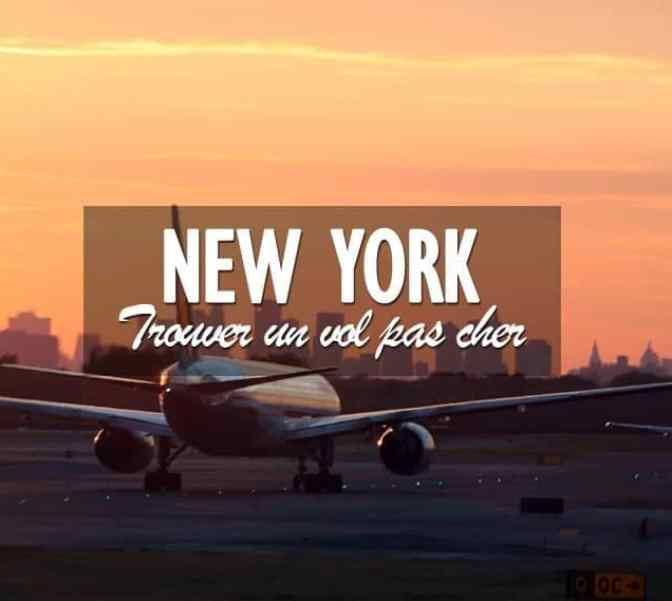 vol pas cher New York