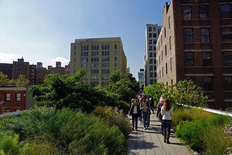 High Line écologique