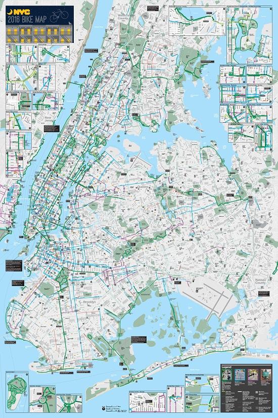 Staten Island Bike Map Staten Island Bike Paths Bike Lanes