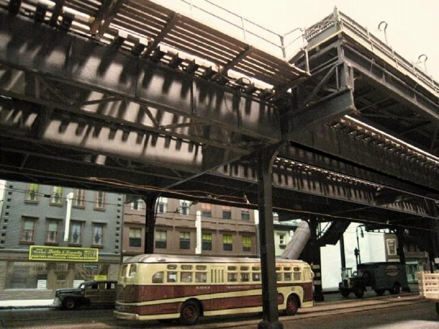 Building Elevated Lines Nyc
