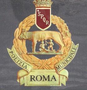 Rome Police Logo