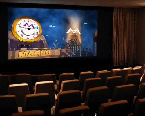 magno screening room