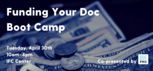 Boot Camp: Funding Your Doc