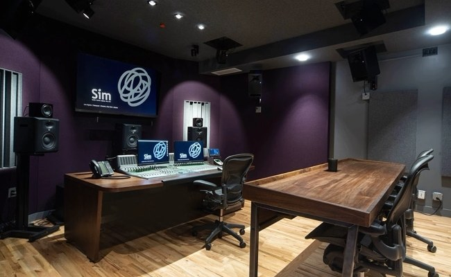 Sim NY new mix studio