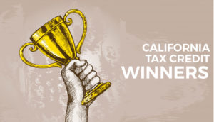 california tax credit winners