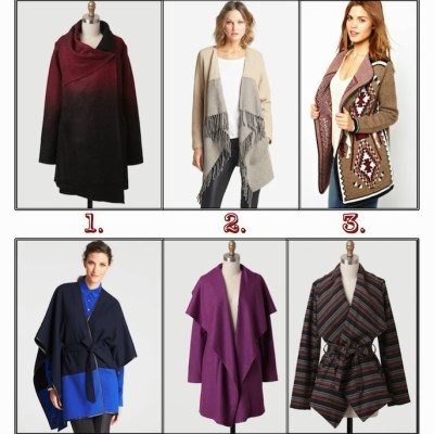 Wrap Coats for Fall