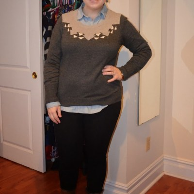 What NYC Recessionista Wears: sweater love