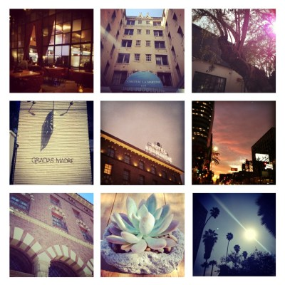 Scenes from California