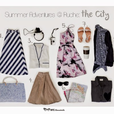 Summer Adventures at Ruche: the City