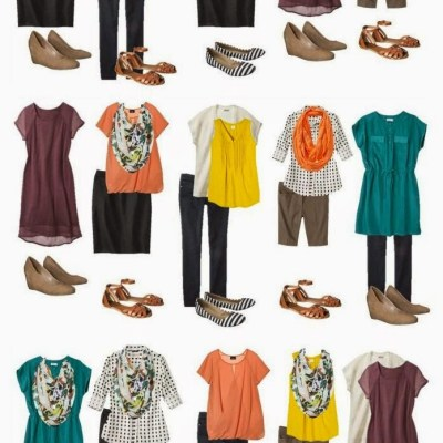 14 pieces from Target, 15 different outfits