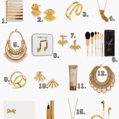 16 Gold Pieces You'll Really Dig