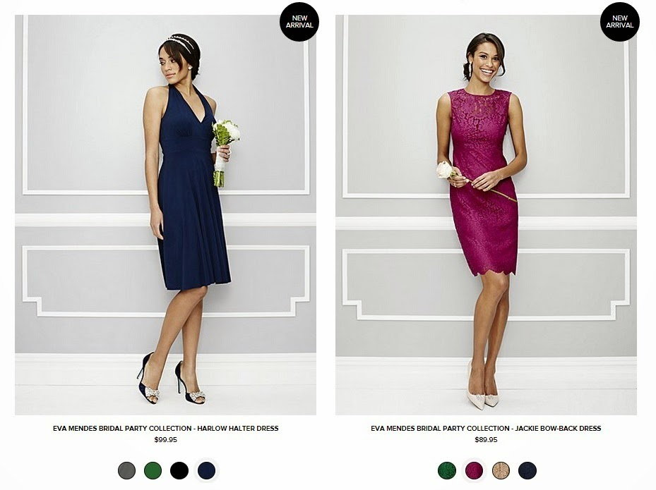 AVAILABLE NOW: Eva Mendes debuts bridal party collection for New ...