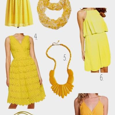Top 10 Summer 2015 Trends: Mellow Yellow
