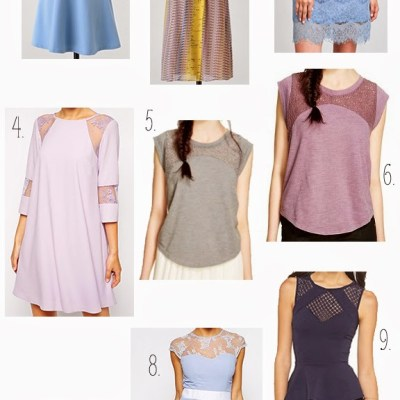 Top 10 Summer 2015 Trends: Peek-a-boo Lace
