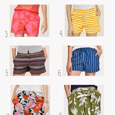 Top 10 Summer 2015 Trends: Printed Shorts