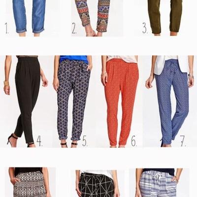 Top 10 Summer 2015 Trends: Soft Pants