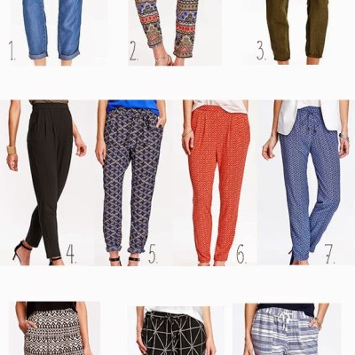 Top 10 Summer 2015 Trends: Soft Pants
