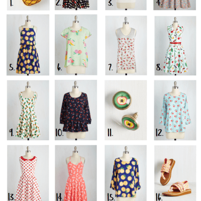 20 Ways to Wear Your Fruits & Vegetables with Modcloth