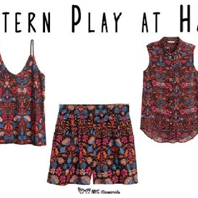 Pattern Play at H&M