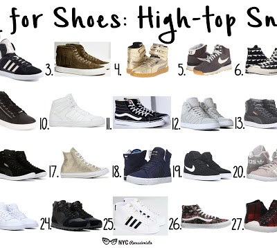 Falling for Shoes: High-top Sneakers