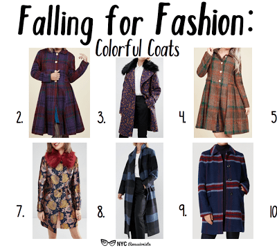 Falling for Fashion: Colorful Coats