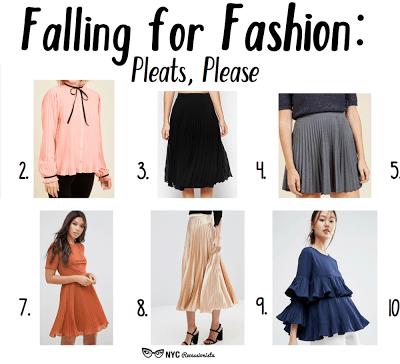 Falling for Fashion: Pleats, Please
