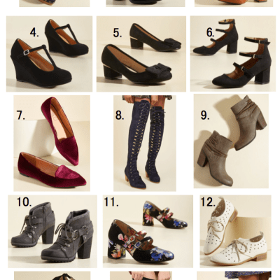 Modcloth's 12 Days of Deals – 25 percent off shoes